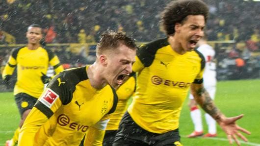 Borussia Dortmund kämpfte sich gegen Stuttgart zu einem wichtigen Sieg.