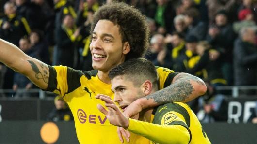 Borussia Dortmund hatte am 25. Spieltag mal wieder allen Grund zur Freude.
