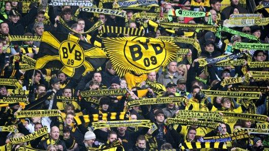 Borussia Dortmunds Fans können über eine Anti-Bayern-Aktion der Mainzer Anhänger schmunzeln. (Archivbild)