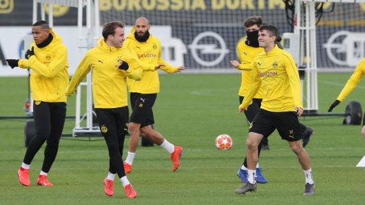 Am Training von Borussia Dortmund nahmen auch drei Spieler teil, die verletzt waren. (Archivbild)