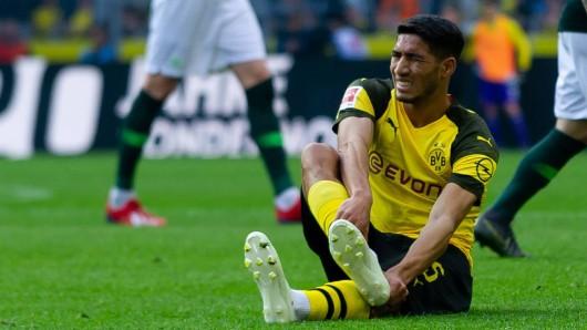 Achraf Hakimi wird Borussia Dortmund in dieser Saison nicht mehr zur Verfügung stehen.