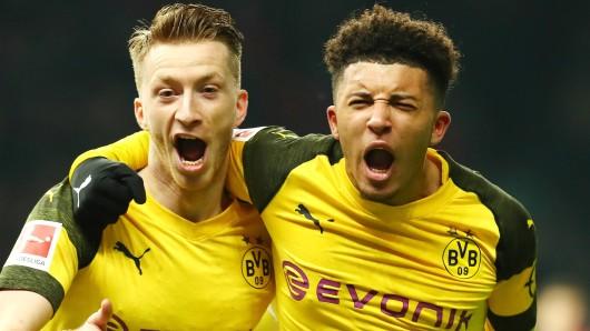 Marco Reus ist bei Borussia Dortmund der Mann für die wichtigen Tore.