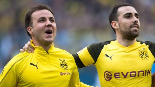 Vor dem Spiel zwischen Bayern und Dortmund steigt bei Mario Götze und Co. die Anspannung.