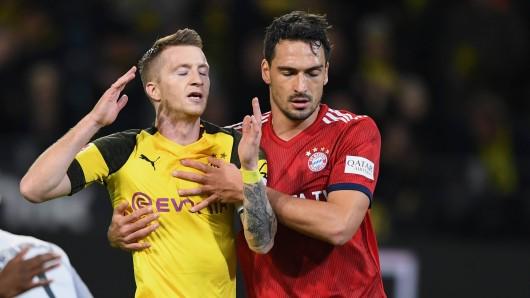 Das Hinspiel zwischen Borussia Dortmund und Bayern hatte es in sich.