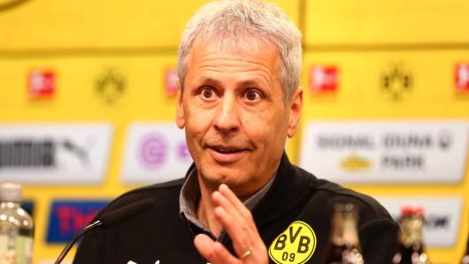 Vor dem Spiel zwischen dem FC Bayern und Borussia Dortmund sprach Lucien Favre über die Stärken und Schwächen des Gegners.