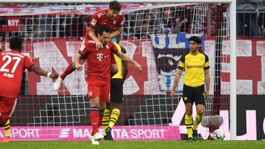 FC Bayern - Borussia Dortmund im Live-Ticker: Hier gibt's alle Highlights und Infos!