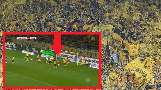 Die Fans von Borussia Dortmund sprachen nach dem Sieg gegen Mainz nur über diese eine Szene.