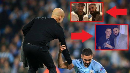 """Der """"Drake-Fluch"""" traf nach Borussia Dortmund auch Manchester City."""