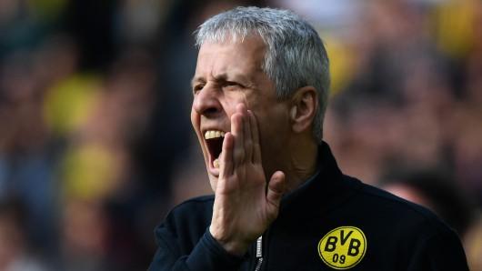 Nach dem Derby zwischen Borussia Dortmund und Schalke 04 platzte Lucien Favre der Kragen.