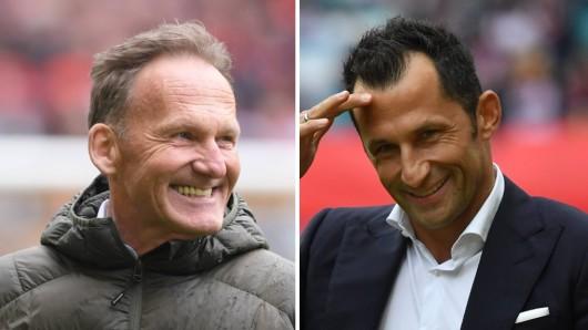 Borussia Dortmund vs. FC Bayern: Hans-Joachim Watzke und Hasan Salihamidzic begannen bereits das verbale Duell im Titelkampf.