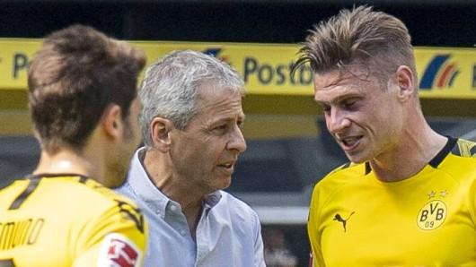 Borussia Dortmund gewann zum Saisonabschluss in Gladbach, wurde im Titelrennen dennoch nur Zweiter.