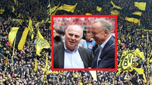 Fans von Borussia Dortmund horchen auf: Die Bayern könnten einen Mega-Deal mit Audi eingehen.