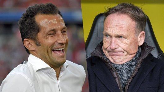 Borussia Dortmund muss sich nach dem verlorenen Titelrennen Häme aus München gefallen lassen.