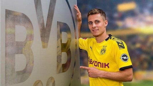 Borussia Dortmund hat Thorgan Hazard aus Gladbach verpflichtet.