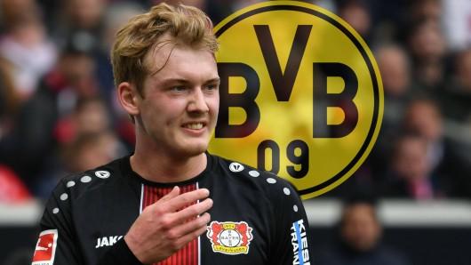 Julian Brandt ist einer von drei Bundesliga-Stars, die in der vergangenen Woche zu Borussia Dortmund gewechselt waren.