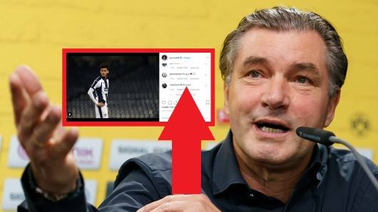 Ein Instagram-Post von Jamie Soule löste riesige Gerüchte um einen Wechsel zu Borussia Dortmund aus.