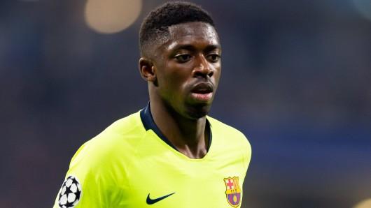 Ousmane Dembélé war im Sommer 2017 von Borussia Dortmund zum FC Barcelona gewechselt.