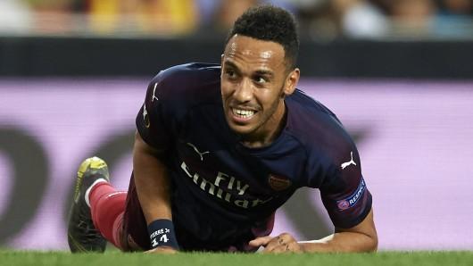 Pierre-Emerick Aubameyang ging einst für Borussia Dortmund auf Torejagd. Nun spielt der ehemalige Stürmer des BVB für den FC Arsenal.