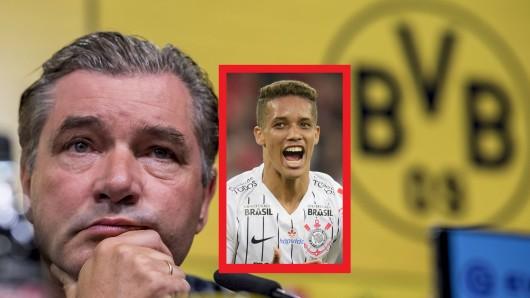 Pedrinho wird erneut mit Borussia Dortmund in Verbindung gebracht.