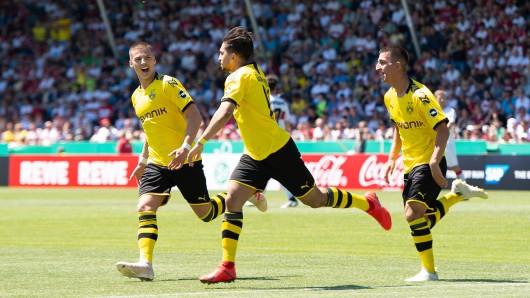 Die U19 von Borussia Dortmund krönte sich zum deutsche A-Junioren-Meister 2019.