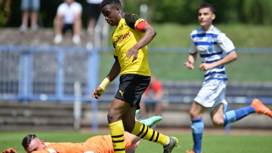 Youssoufa Moukoko ist das große Supertalent bei Borussia Dortmund.