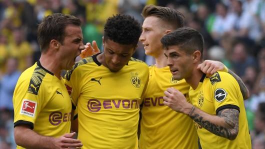 Bei Borussia Dortmund wurden alle Spieler einem Marktwert-Update unterzogen.