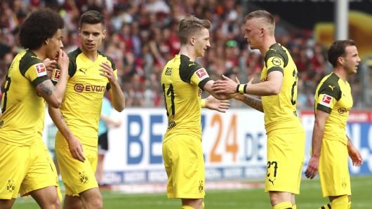 Einge Spieler wollen den BVB im Sommer verlassen, unter anderem Julian Weigl und Marius Wolf.