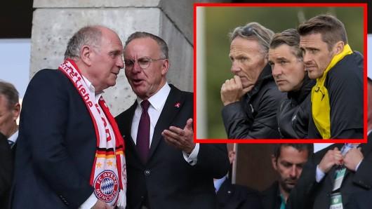 Bei Borussia Dortmund hoffen plötzlich alle auf einen Bayern-Transfer.