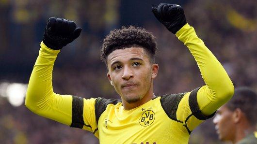 Jadon Sancho war in der vergangenen Saison der Überflieger bei Borussia Dortmund.
