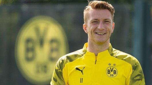 Marco Reus freut sich bei Borussia Dortmund schon auf den Saisonbeginn.