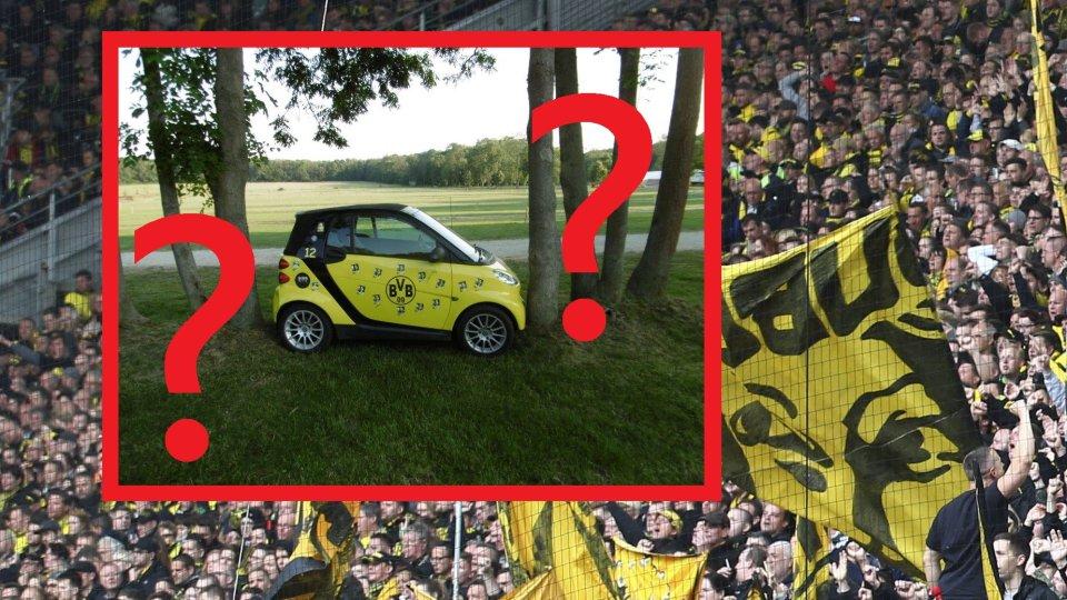 Ein Fan von Borussia Dortmund wurde Opfer eines ganz besonders üblen Scherzes.