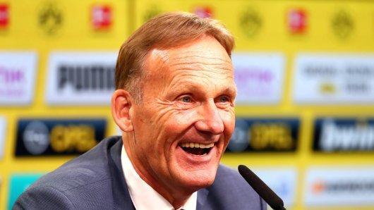 BVB-Boss Hans-Joachim Watzke will mit Borussia Dortmund in dieser Saison nur zu gerne wieder vorne mitspielen.