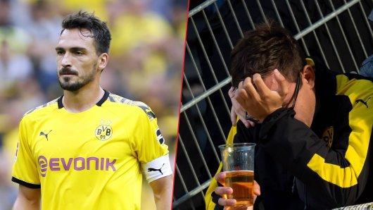 Viele Fans von Borussia Dortmund waren nicht einverstanden, dass Hummels nach seiner Rückkehr sofort die Kapitänsbinde bekam.