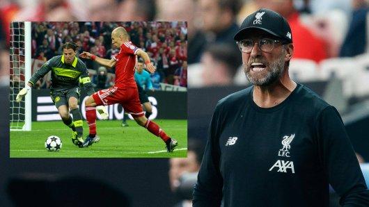 Jürgen Klopp rief sich das Champions-League-Finale 2013 in Erinnerung.
