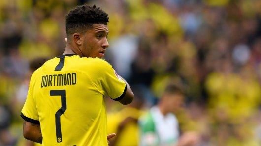 Jadon Sancho hat sich bei Borussia Dortmund ins Rampenlicht gespielt – jetzt wird er heiß umworben.