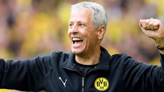 Lucien Favre will Borussia Dortmund am Samstag zurück in die Erfolgsspur bringen.