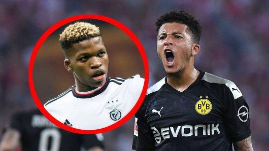 Jadon Sancho von Borussia Dortmund und Florentino Luis von Benfica Lissabon stehen bei Manchester United auf der Wunschliste.