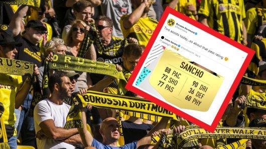 Borussia Dortmund begeisterte seine Fans nach dem Sieg gegen Leverkusen mit einem lustigen Tweet.