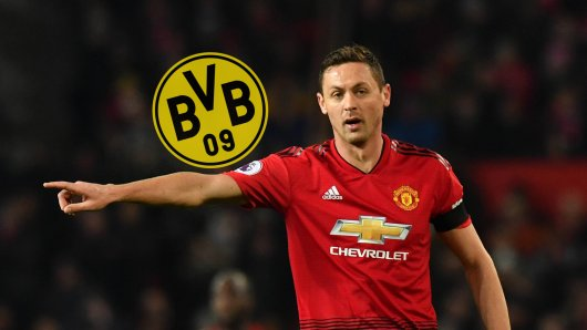Hat Borussia Dortmund United-Star Nemanja Matic im Visier?