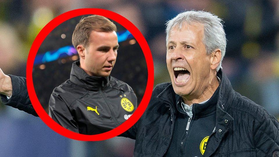 Lucien favre ist sich sicher: Mario Götze wird demnächst bei Borussia Dortmund wieder zu mehr Einsatzzeiten kommen.