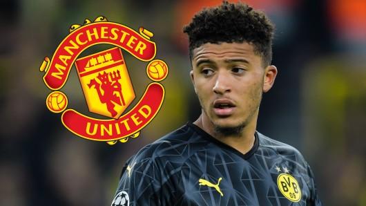 Manchester United würde Jadon Sancho gerne von Borussia Dortmund loseisen.