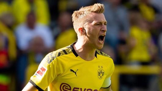 Marco Reus platzte nach dem 2:2 von Borussia Dortmund bei Eintracht Frankfurt der Kragen.