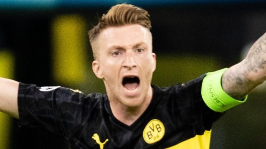 Nach dem Spiel von Borussia Dortmund bei Slavia Prag in der Champions League fielen Marco Reus ein paar Zentnerlasten vom Herzen.