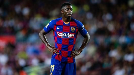Ex-BVB-Star Ousmane Dembélé macht es den Barca-Bossen nicht leicht.