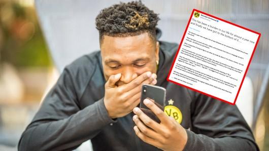 Borussia Dortmund brachte mit einem Tweet alle zum Lachen. (Symbolfoto)
