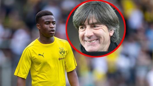 Youssoufa Moukoko, Supertalent von Borussia Dortmund, spricht Klartext über Joachim Löws Interesse an ihm.