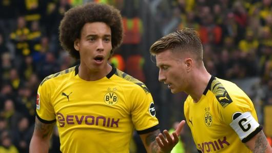 Axel Witsel und Marco Reus stehen mit Borussia Dortmund vor schwierigen Aufgaben.