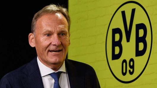 Hans-Joachim Watzke, Geschäftsführer von Borussia Dortmund, war zu Gast bei Markus Lanz im ZDF.