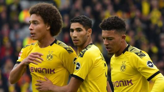 Jadon Sancho saß beim vergangenen Spiel von Borussia Dortmund nur auf der Bank.
