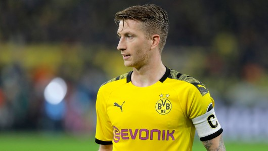 Marco Reus lief trotz grippalen Infekts für den BVB auf.
